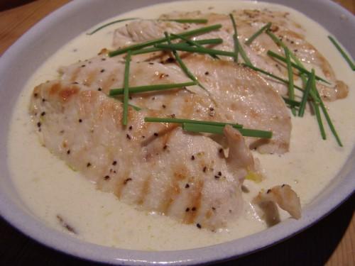 chicken in tarragon cream