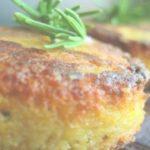 polenta cake herb