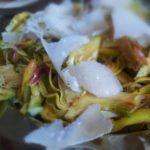 raw artichoke salad
