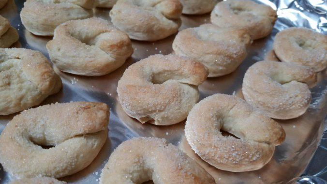 taralli dolci cooked