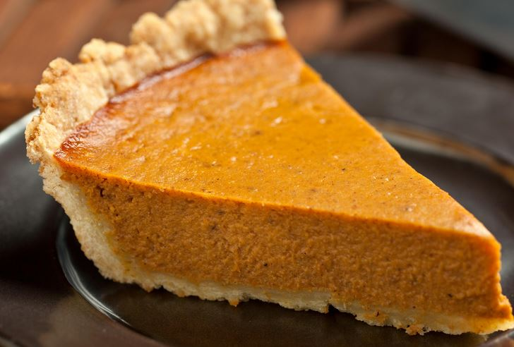 Brilliant pumpkin pie