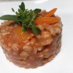 making risotto using pearl barley